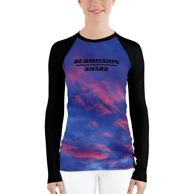 Shop Women's BJJ Rash Guard (Sky's Passion)