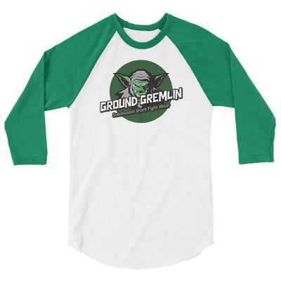 Ground Gremlin - 3/4 sleeve raglan shirt