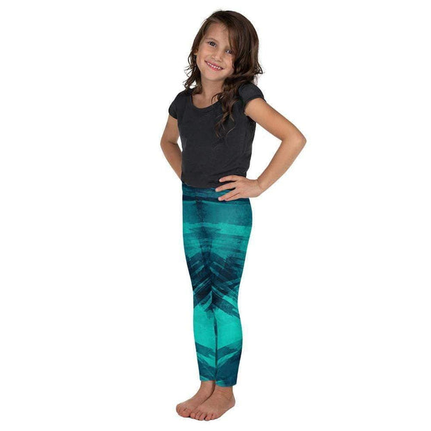 5f9b35f960911 Shark Armour Kid's Leggings | Submission Shark Blue Compression Pants