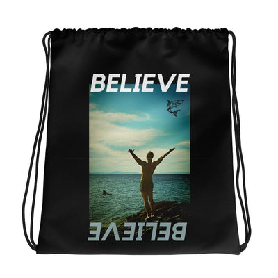 Believe | Drawstring bag | Submission Shark