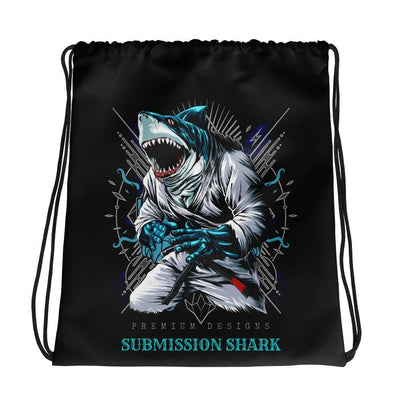 Shark Frenzy | Drawstring bag | Submission Shark