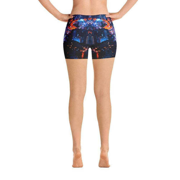 City Life Sports Shorts | Submission Shark Back