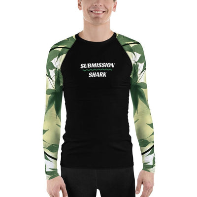 Legalize Leaf ~ Men's BJJ Rash Guard