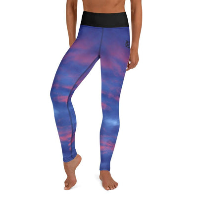 High-Waist BJJ Leggings (Sky's Passion)