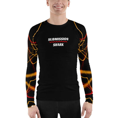 Men's Jiu Jitsu Rash Guard (Electric Flow)