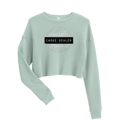 Women's BJJ Crop Sweatshirt (Choke Dealer)