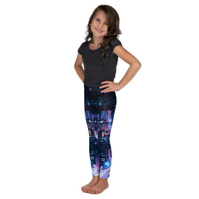 City Lights Kid's Leggings | Submission Shark - tamlifestyle