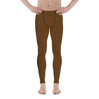 Brown SS Premium Standard | Men's Compression Spats | Submission Shark - tamlifestyle