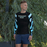 Ranked 1.0 Compression Shirt (Blue) | Submission Shark Rashguard