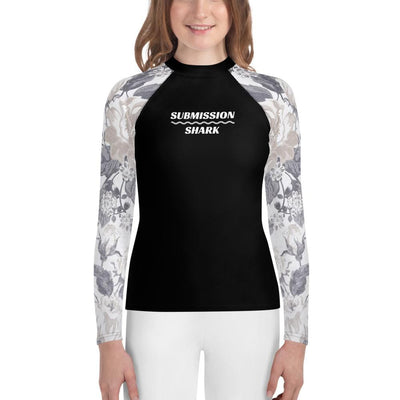 Elegant Knight - Shop Youth BJJ Rash Guards (Submission Shark)