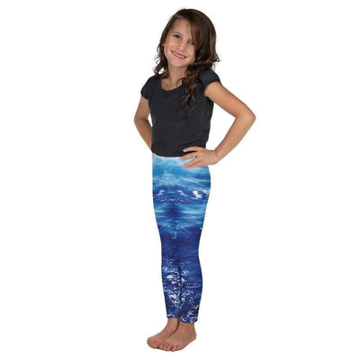 Wonderful Waves Kid's Leggings