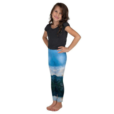 Rocky Blue Kid's Leggings | Submission Shark - tamlifestyle