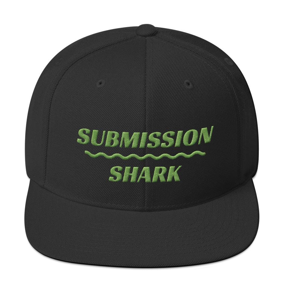 Green Love | Snapback Hat - Submission Shark
