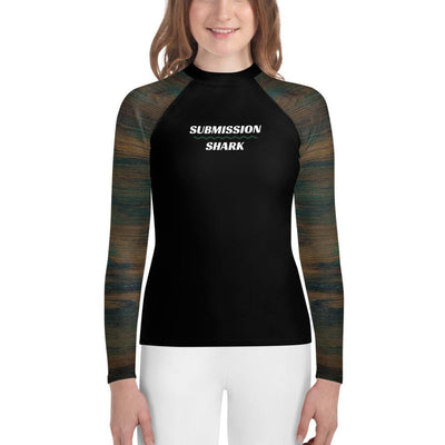 Youth Unisex BJJ Rash Guard - Mystic Woods
