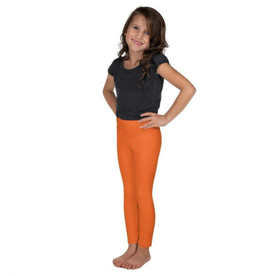 Orange SS Premium Standard | Kid's Leggings | Submission Shark - tamlifestyle