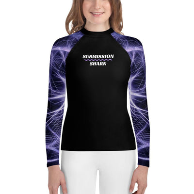 Unisex Youth Rash Guard - Neuron Energy (No-Gi BJJ Gear)