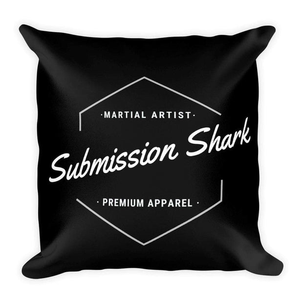 Submission Shark's Classic Square Pillow