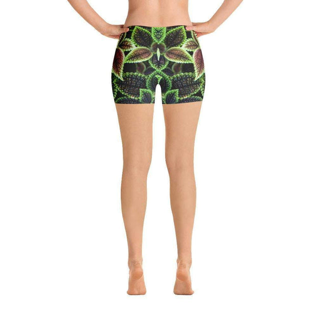 Glowing Growing Green Sports Shorts | Submission Shark - tamlifestyle