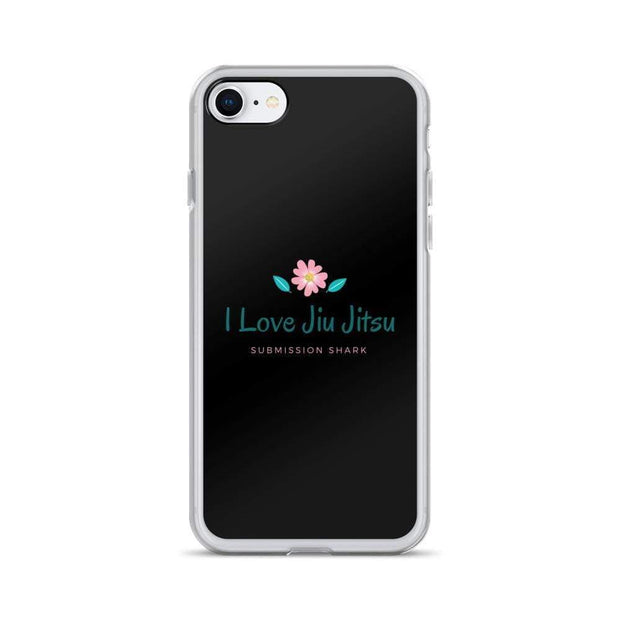 """I Love Jiu Jitsu"" iPhone Case - tamlifestyle"