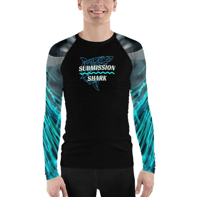 Bionic 2088 ~ Men's Submission Shark BJJ Rash Guard