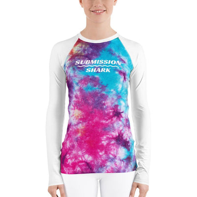Tye Dye ~ Women's BJJ Rash Guard