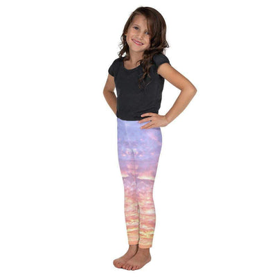 Blush Heaven Kid's Leggings | Submission Shark - tamlifestyle