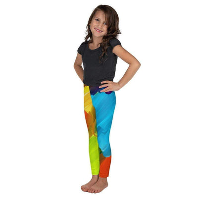 Colorful Artist Kid's Leggings | Submission Shark - tamlifestyle
