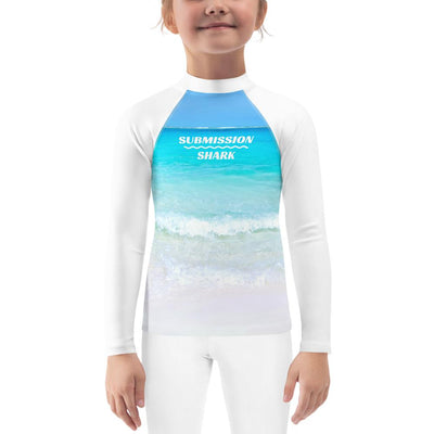 Beach Paradise ~ Kids BJJ Rash Guard
