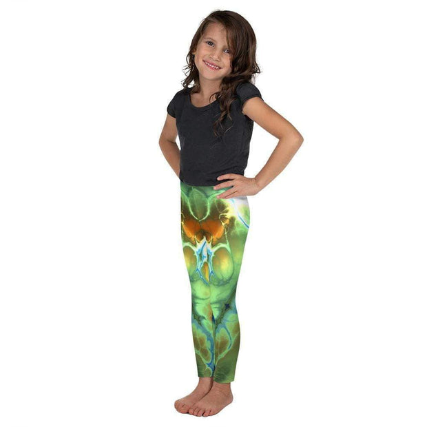 Liquid Trip Kid's Leggings | Submission Shark Left