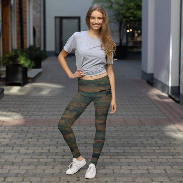Mystic Woods Leggings | Submission Shark - tamlifestyle