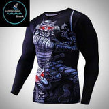 Samurai Compression Shirt | Submission Shark Rashguard