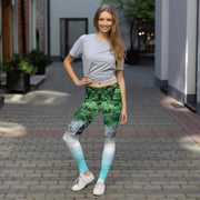 Tropical Shores Leggings | Submission Shark - tamlifestyle