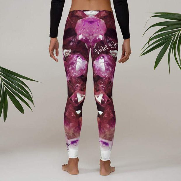 Violet Gemstone Leggings | Submission Shark Compression Spats