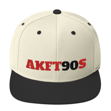 A Kid From The 90's Snapback (Cream/Red/Black