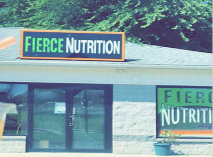 outside view of Fierce Nutrition store | meal kit delivery