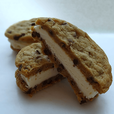 Vegan Chocolate Chip Cookie Sandwich