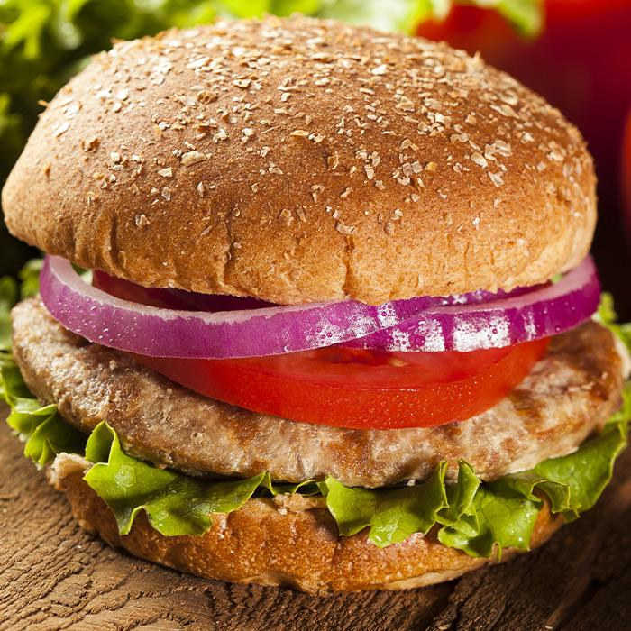 4 Pack- All White Meat Turkey Burger
