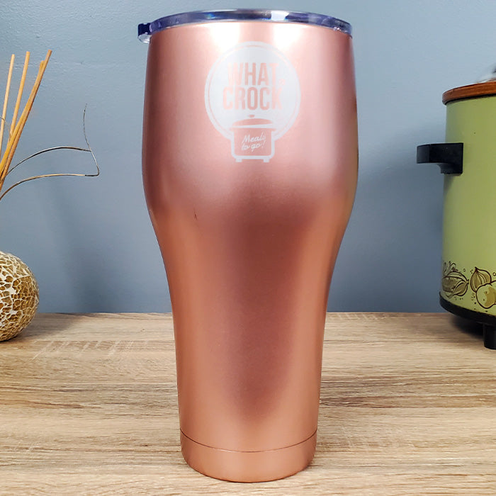 What a Crock 30 oz Stainless Steel Tumbler