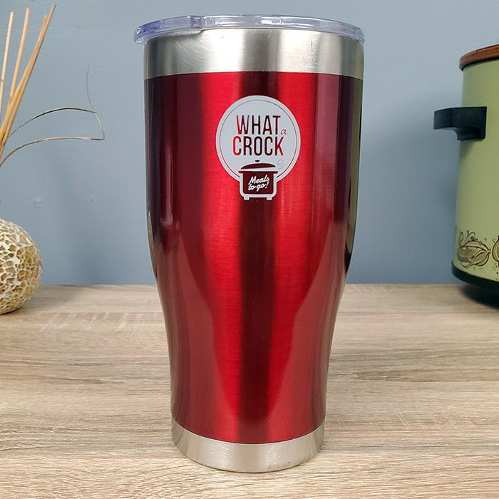 What a Crock 24 oz Stainless Steel Tumbler