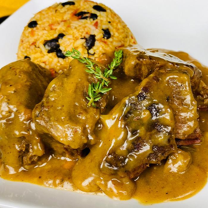 New Orleans Braised Beef