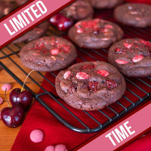 Famous 4th Street Ruby Chocolate Cherry Cookies