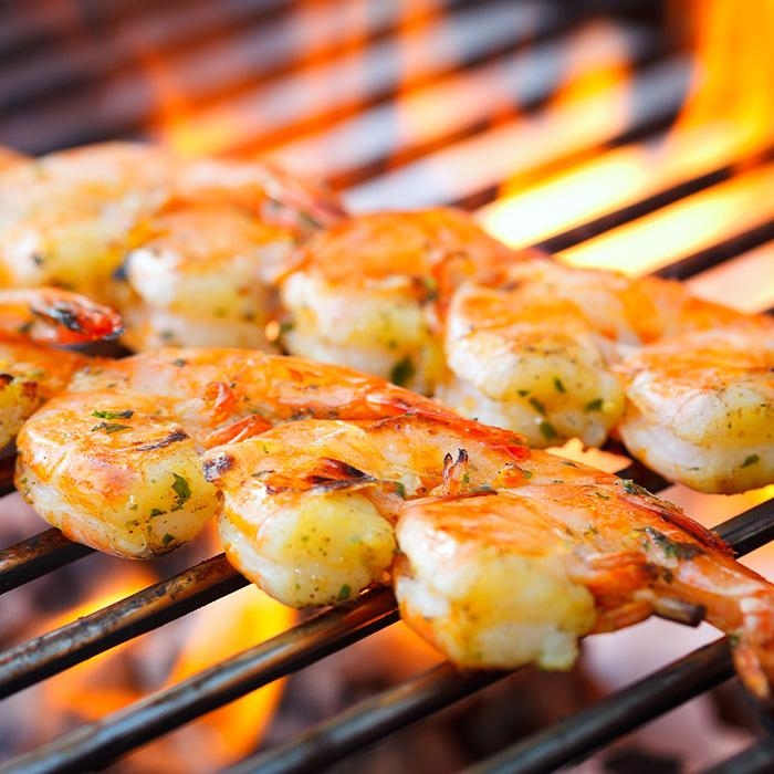4 Pack - Shrimp Skewers