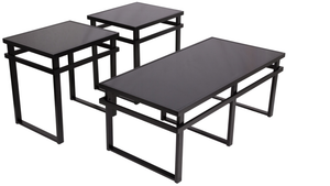 FFN Black Cocktail Table