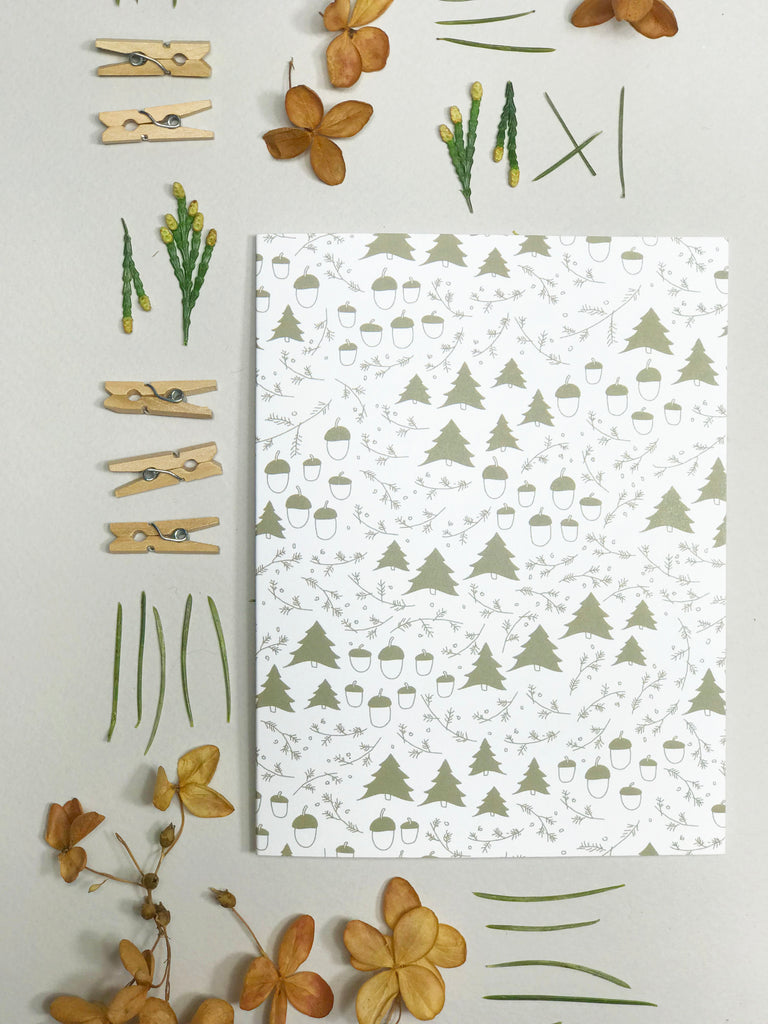 Winter Forest — Set of 7 Note Cards