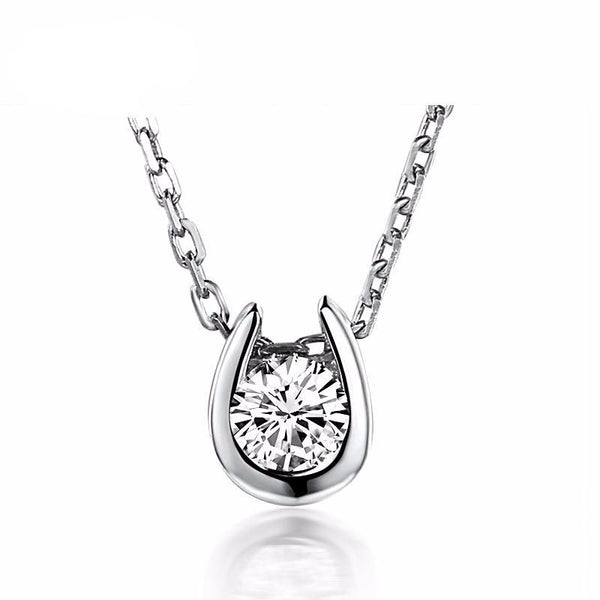 Horseshoe Diamond Pendant