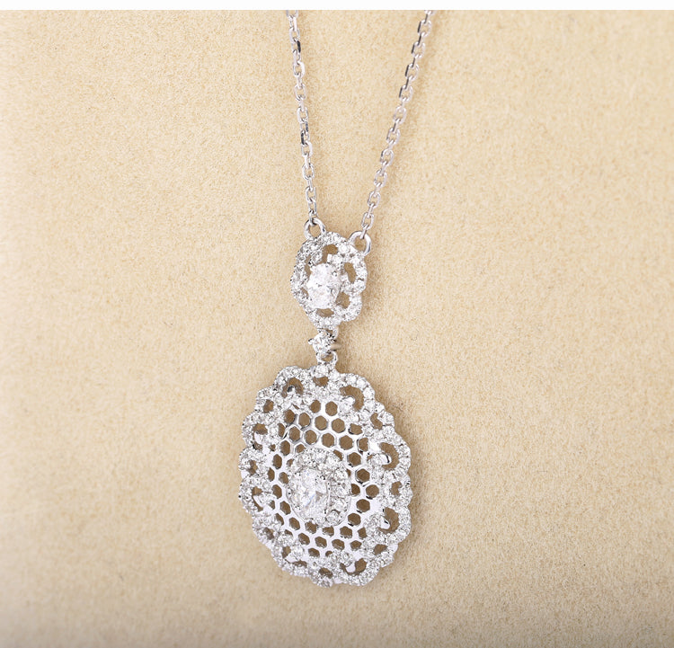 and large gold diamond online collections almond women in designer alluring pendant for pendants