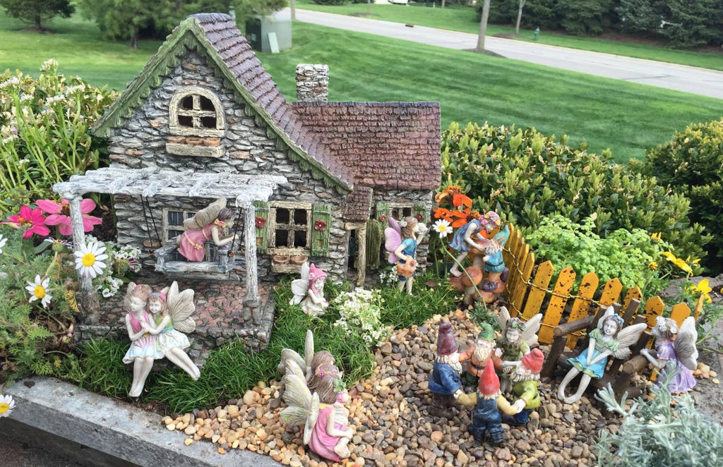 Our First Fairy Garden Video Blog In Time For Spring