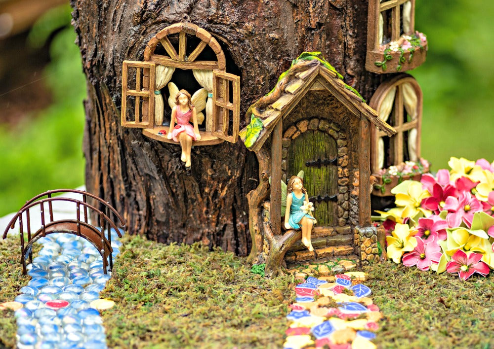 Take Your Fairy Garden Up a Notch – Creating Imaginative Mini Towns and Villages