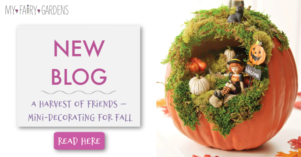 A Harvest of Friends – Mini-Decorating for Fall