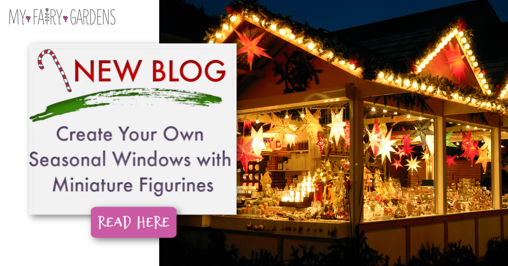Create Your Own Seasonal Windows with Miniature Figurines